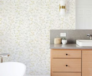 Fresh New Wallpaper Designs are Geometric, Botanical and Beautiful