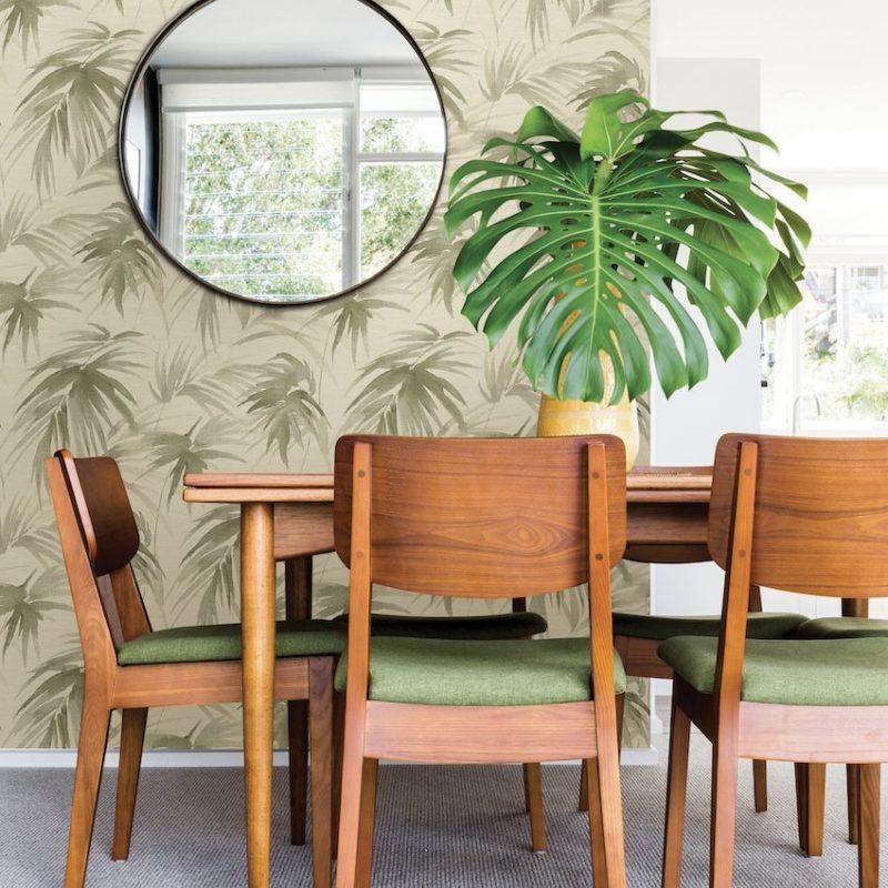 Fresh New Wallpaper Designs are Geometric, Botanical and Beautiful