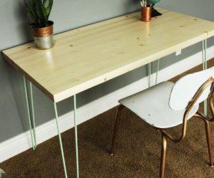 Simple Office Desk DIYs That Let You Customize Your Workspace
