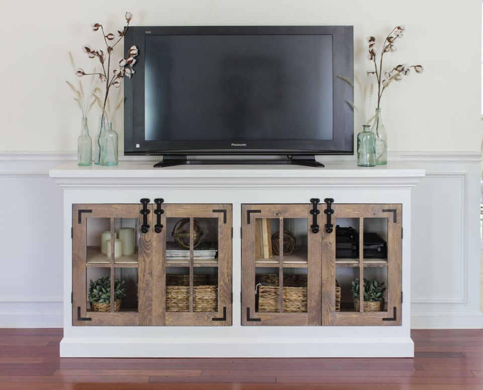How To Build A TV Stand - 12 Ways To Make It Special