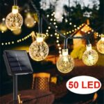 50 LED 24ft 8 Modes Waterproof String Lights