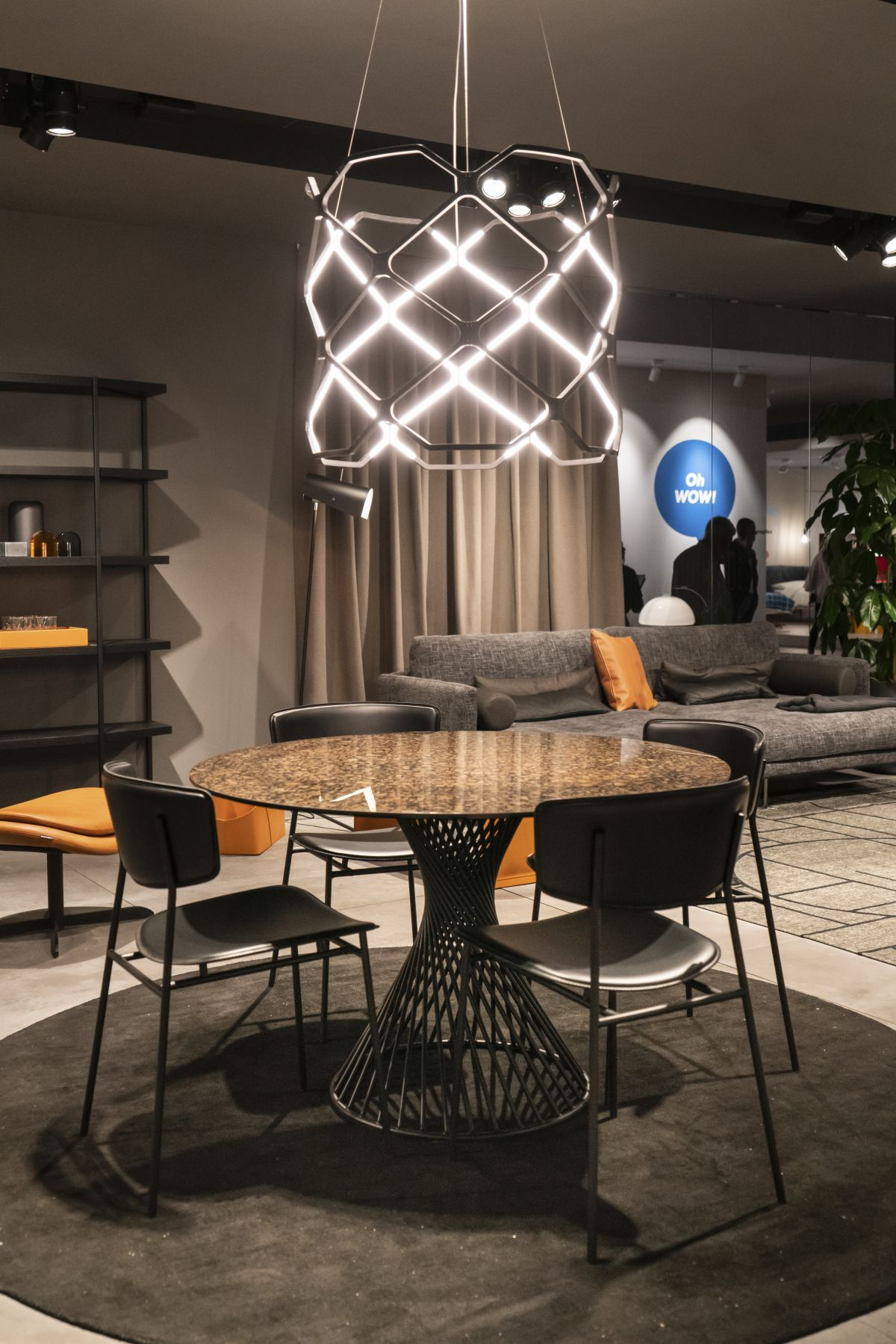 Beautiful pendant lamp over table - How To Design And Decorate The Space Around Your Dining Table