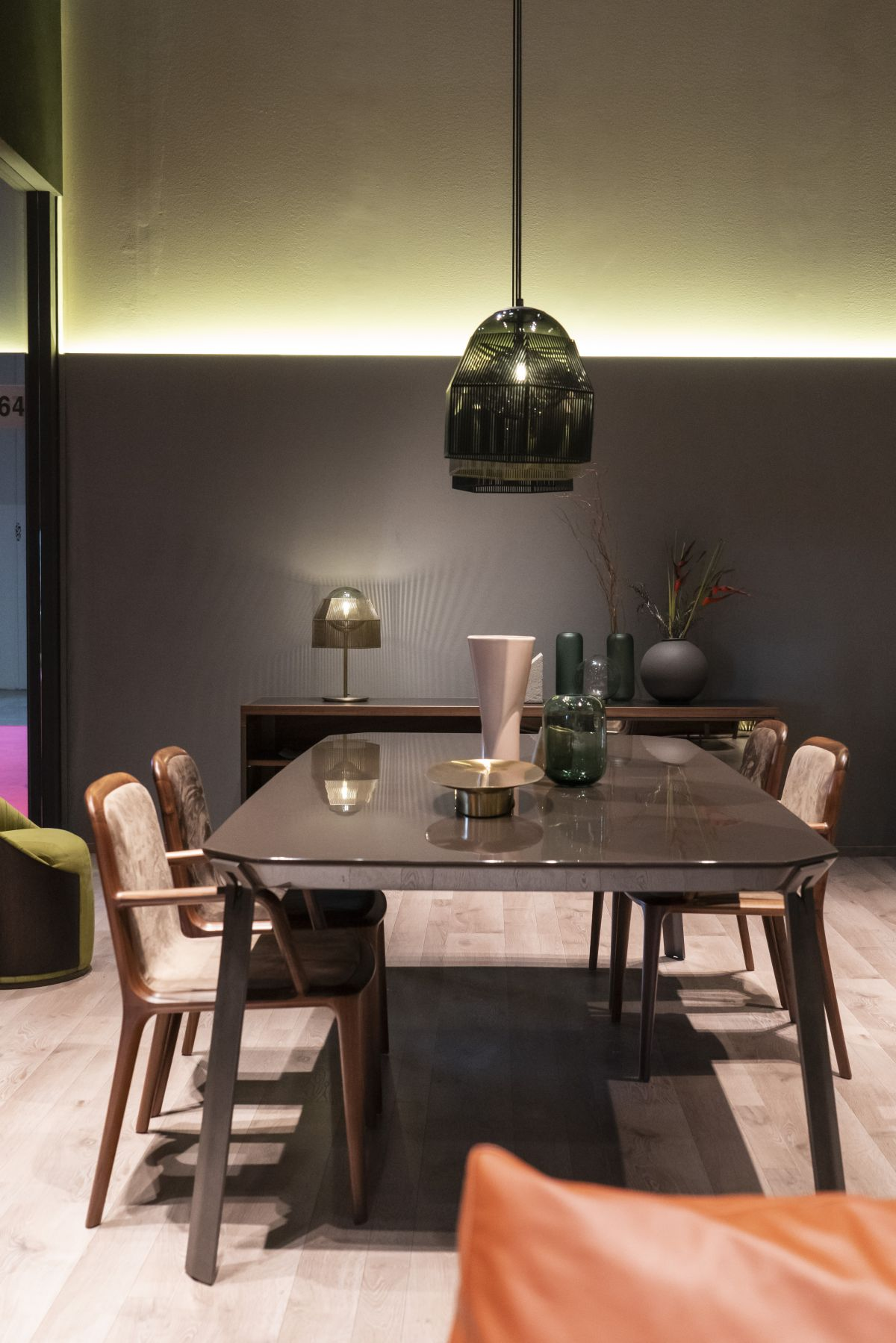 Black dining table design - How To Design And Decorate The Space Around Your Dining Table