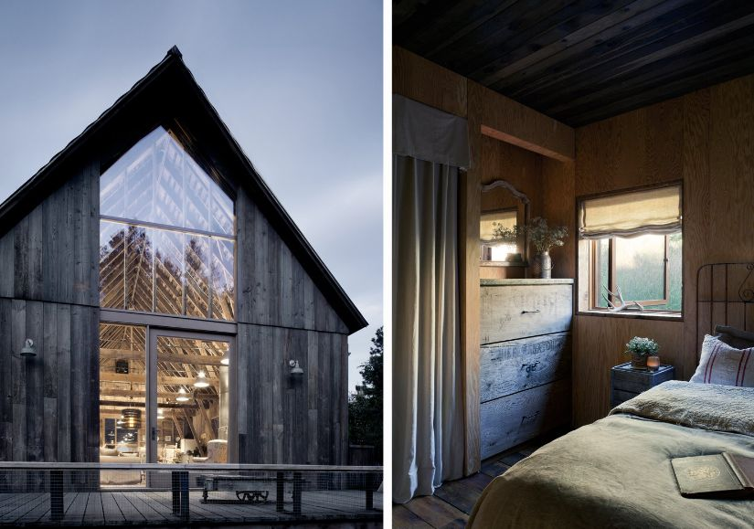 The transformation of the barn is aimed at infusing the old structure with modern features without altering it too much