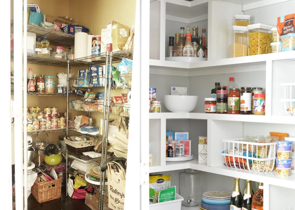 Organize Your Pantry Using Shelving Systems