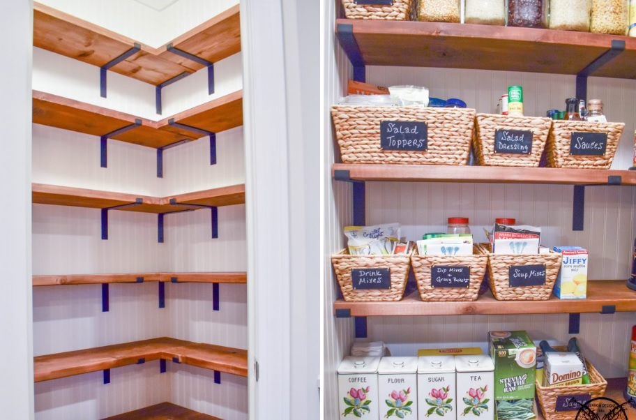Make the most of a small pantry