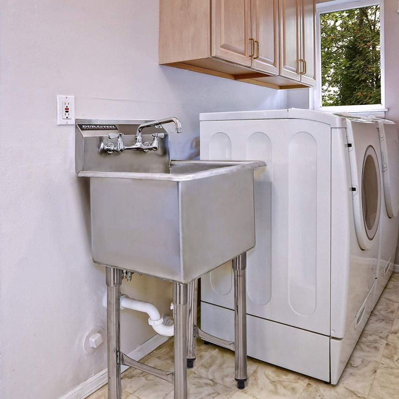 Utility Tub Designs For Laundry Rooms