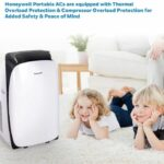 Honeywell HL09CESWK Contempo Series Dehumidifier & Portable Air Conditioner
