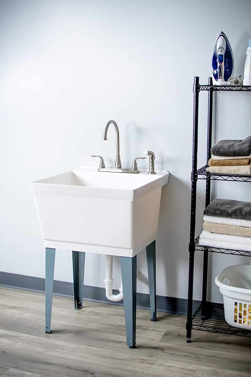 10 Best Utility Tub Designs For Laundry Rooms