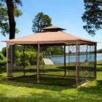 Sunjoy Gazebo with Mosquito Netting