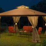Sunjoy Monterey Gazebo with Netting