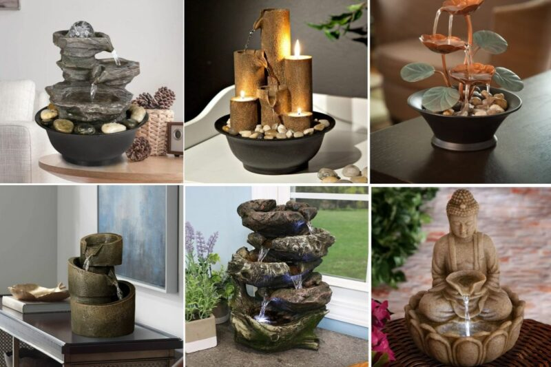 The Best Tabletop Fountains for Relaxing and Zen Interiors