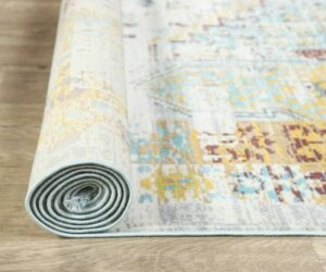 Get a Brand New Look With the Vintage Vibe of a Distressed Rug