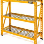 3 Shelf Steel Wire Deck Industrial Storage Rack
