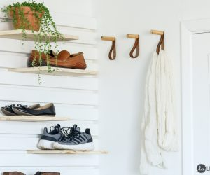 20 DIY Shoe Rack Ideas For The Perfect Entryway Makeover