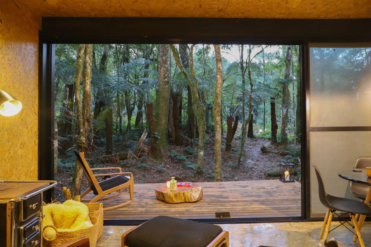 Alpes São Chico Housing Complex design Porto Quadrado indoor - A Trio Of Vacation Houses Built With Prefab Metal Panels