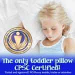 Dreamtown Kids Toddler Pillow
