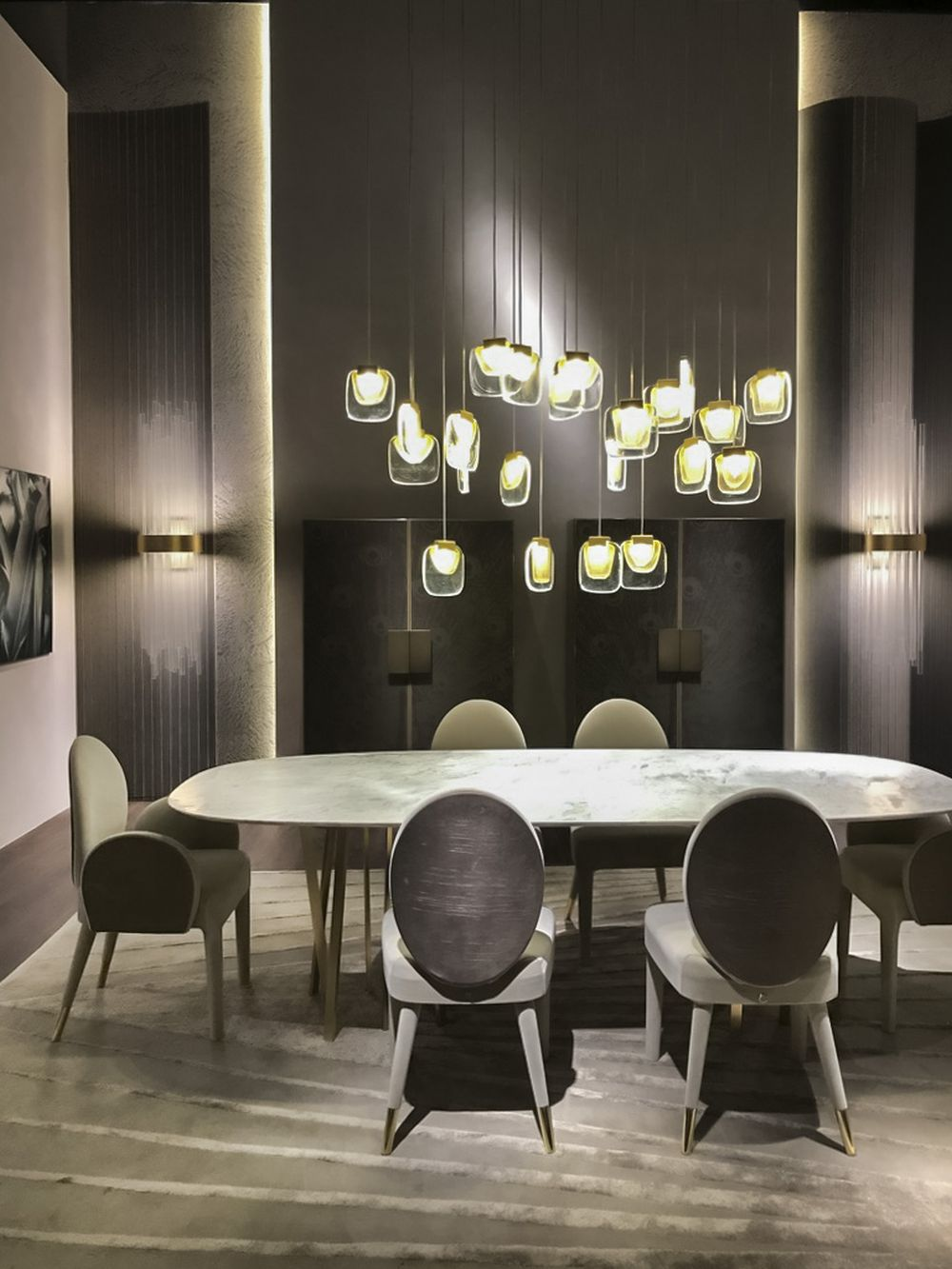 Golden cloud paolo castelli - Lighting Fixtures that Will Add a Bid Dose of Drama to Your Room