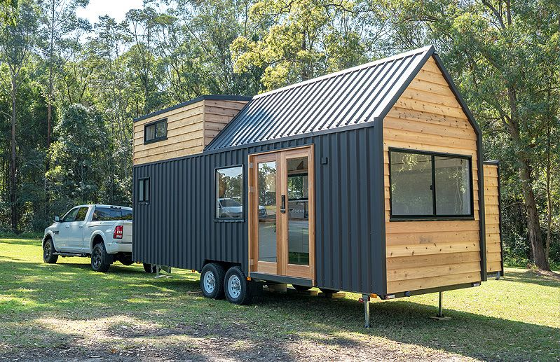 A High-End Tiny House on Wheels Can be Stylish and Sustainable Too