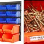 Plastic Bins Organizer