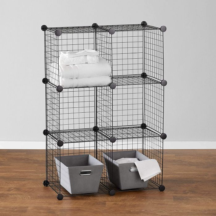 Play around with modular cubbies