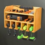 Power Tool Organizer and Charging Station