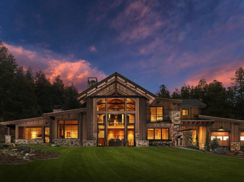 Eco-Friendly Mountain Ranch Home Has Some Unexpected Features