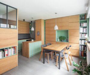 This Paris Studio Apartment is Light, Bright and Super Functional