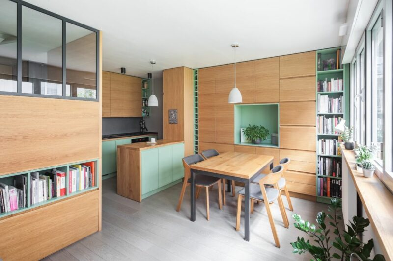This Paris Studio Apartment is Light, Bright and Super Functional