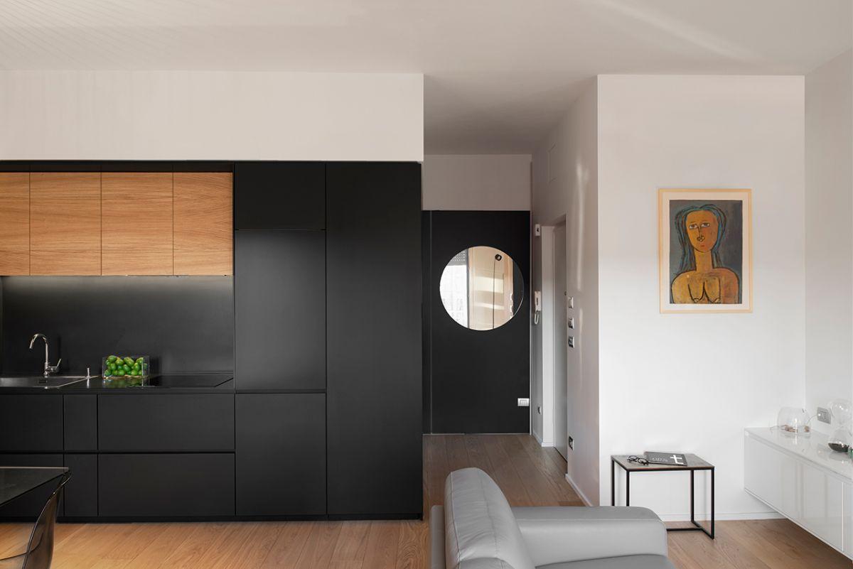 This Modern Italian Apartment Overlooks An Old Style Italian Piazza