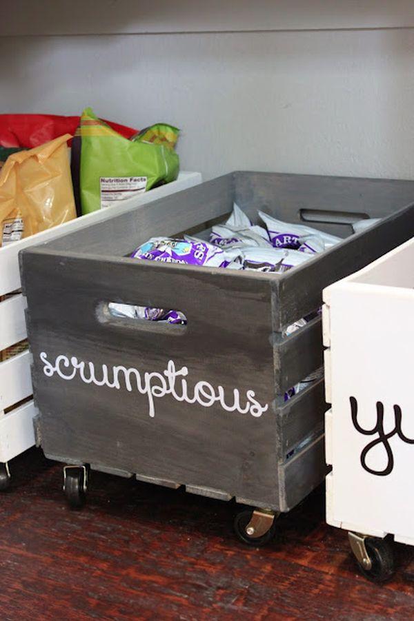 Turn basic boxes into stylish organizers
