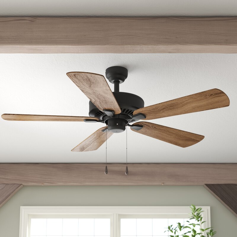Tyrese 5 - Blade Standard Ceiling Fan with