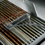Weber 6493 Original Stainless Steel 3-Sided Grill Brush With 21-Inch Handle