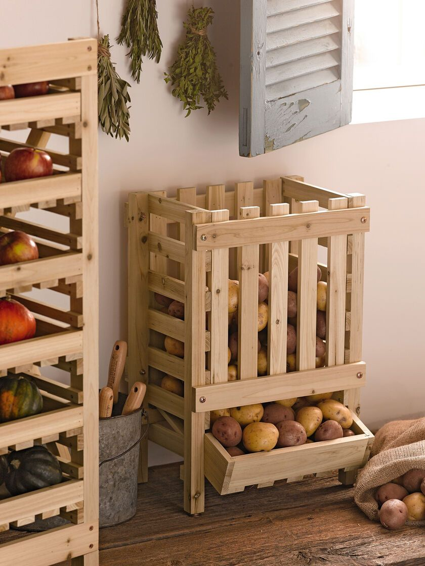 Kitchen Simple And Efficient Ways To Store Fruits And Vegetables