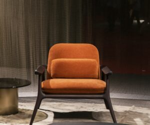 A Great Armchair Offers Design Substance Along with Style and Comfort