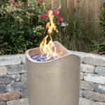American Fyre Designs Wave 20-Inch Propane Gas Fire Urn