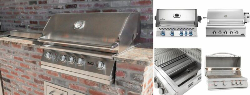 The Art Of Grilling – 5 Best Outdoor Built-In Grill