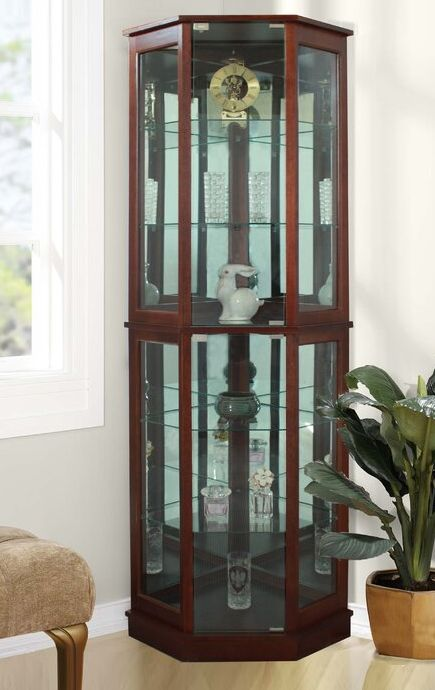 A Curio Or Display Cabinet Is Perfect