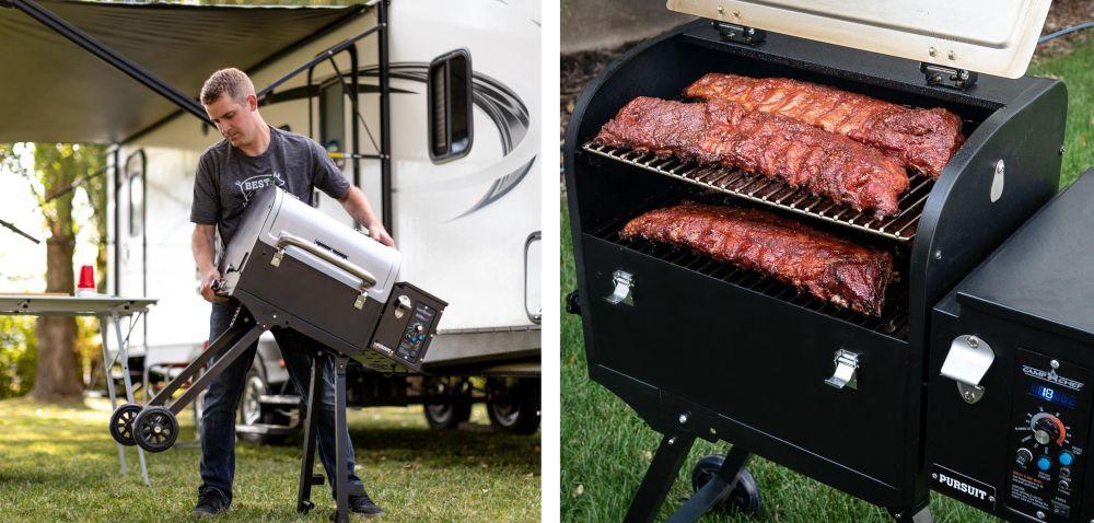 Camp Chef Pursuit 20 Portable Wood Pellet Grill