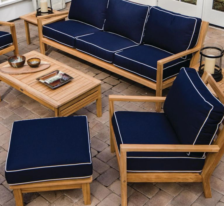 Best Teak Patio Sets For Your Stylish, Teak Patio Furniture Cushions