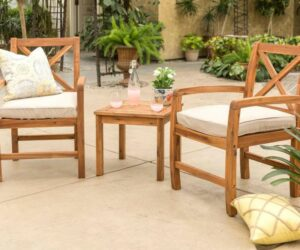 5 Great Small Patio Furniture Sets That Brings Comfort and Function