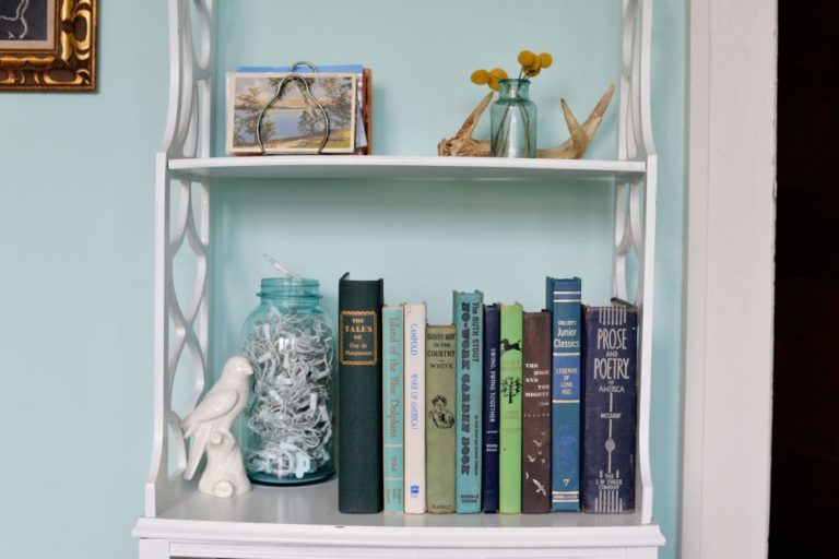 secret bookcase hiding place