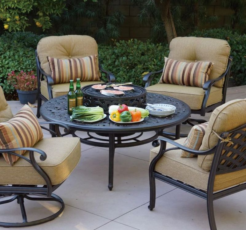 Make Your Backyard Amazing By Adding A Patio Sets With Fire Pits