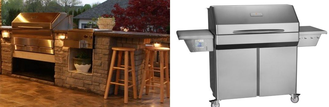 Memphis Grills Elite Wi-Fi Controlled 39-Inch 304 Stainless Steel Pellet Grill
