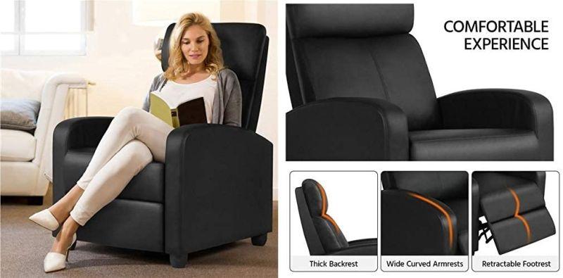 Yaheetech 2-Seat Reclining Chair