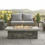 Real Flame Sedona 52-Inch Rectangle Propane Gas Fire Table W/ NG Conversion Kit