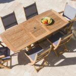 Sailmate 7 Piece Teak Patio Dining Set