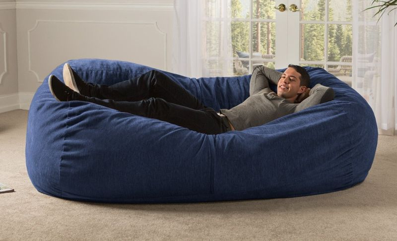 Giant Bean Bag Chair Designs For The Comfiest Sitting Areas