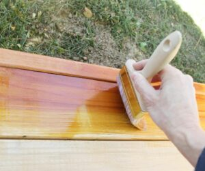 Building a Redwood Patio – The Best Paint and Tools For Painting Your Deck
