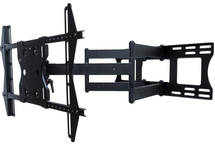 SunBriteTV Outdoor Dual Arm Articulating (Full Motion) Mount for 37 - 80 Inch Large Displays